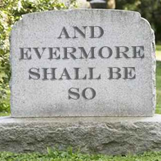 And Evermore Shall Be So