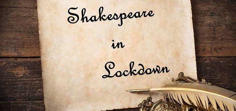 Shakespeare in Lockdown Banner